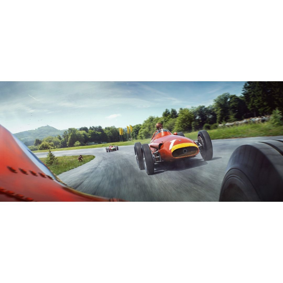Product image for The Lap That Made A Legend   Juan Manuel Fangio - Maserati - 1957   Automobilist   Limited Edition artwork