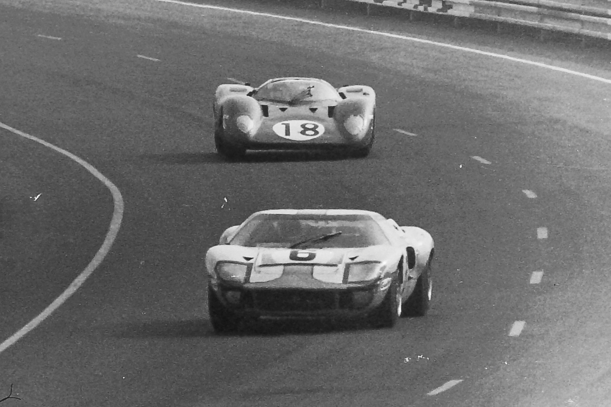 1969 Le Mans 24 Hours Jacky Ickx Jackie Oliver