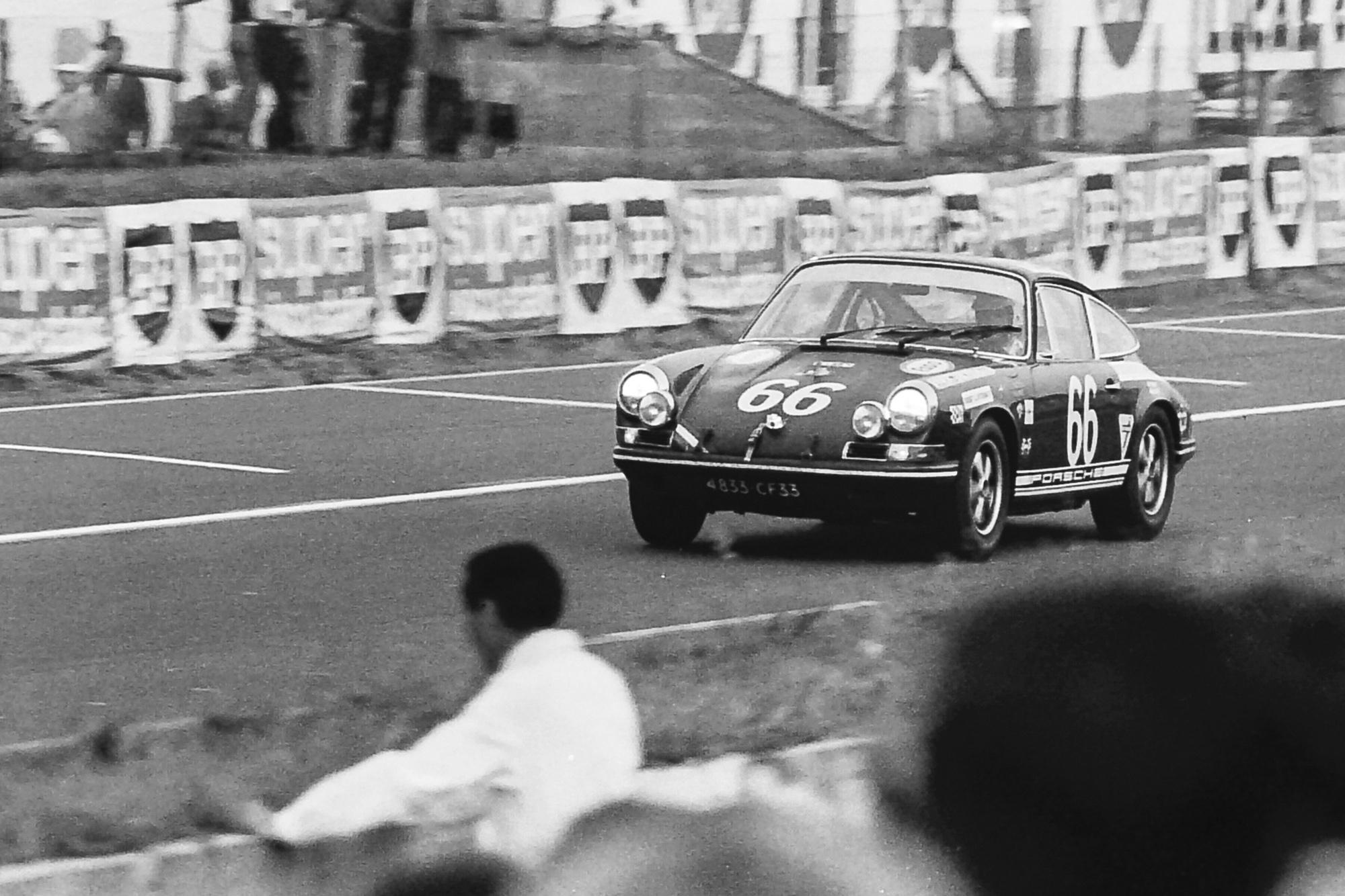 1969 Le Mans 24 Hours Jean Egreteaud Porsche 911T
