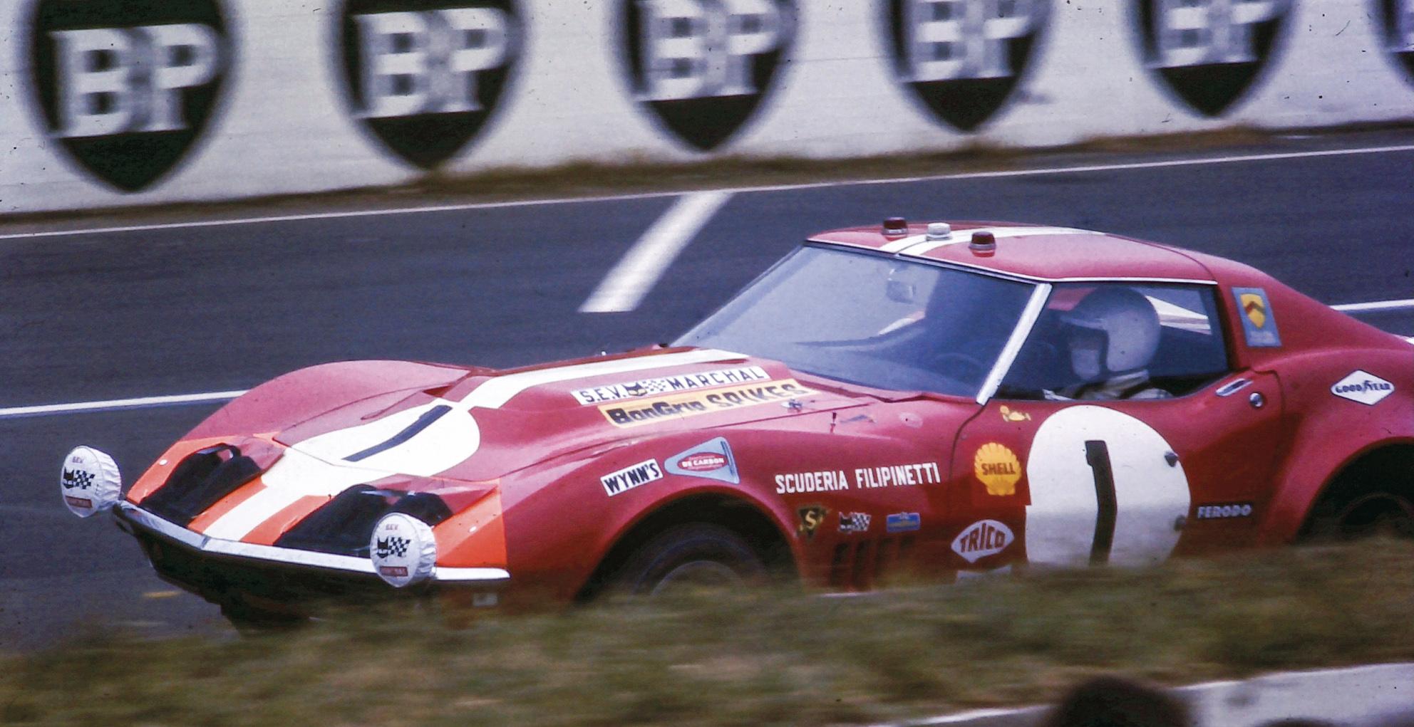 1969 Le Mans 24 Hours Scuderia Filipinetti Corvette