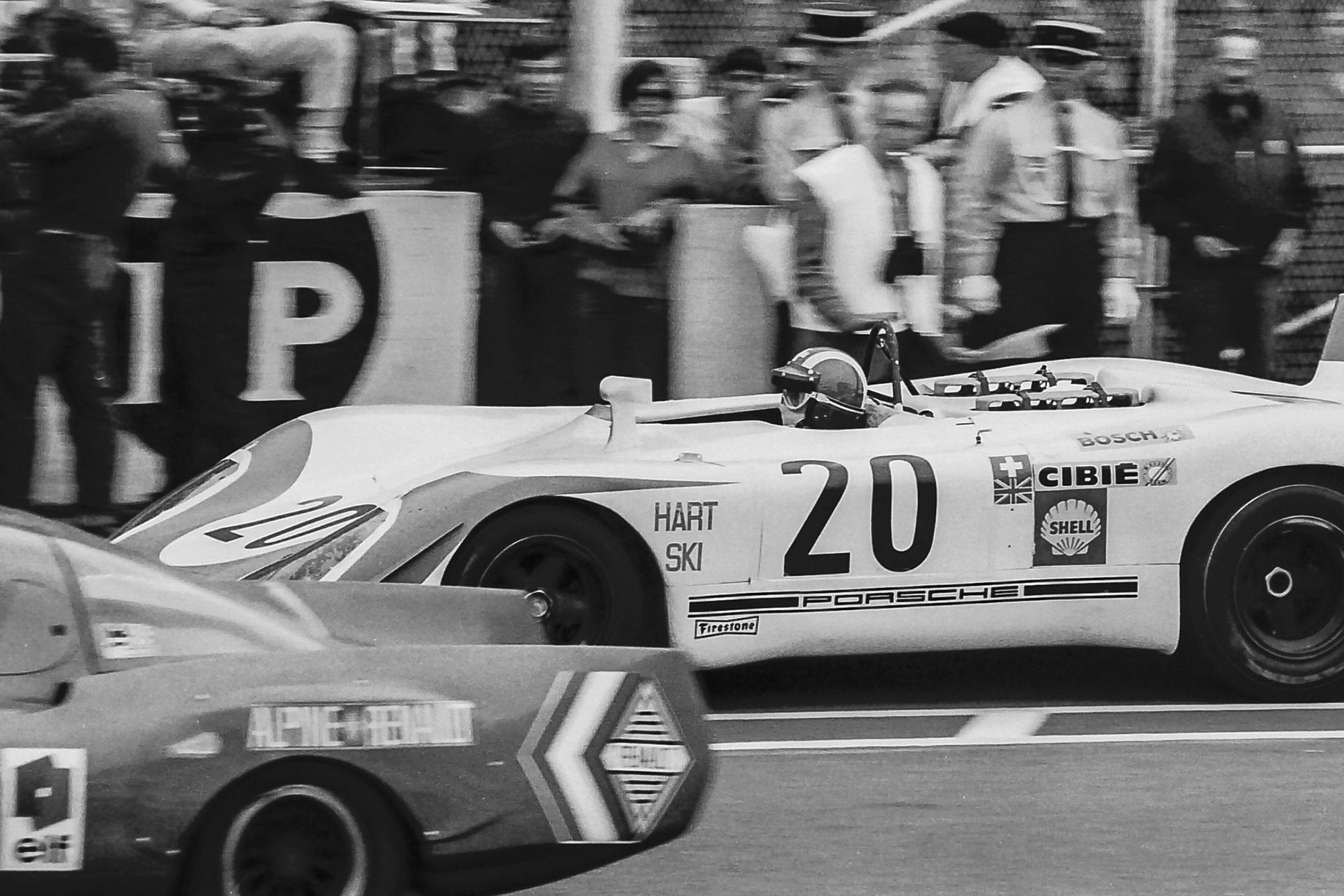 1969 Le Mans 24 Hours Siffert Redman Porsche