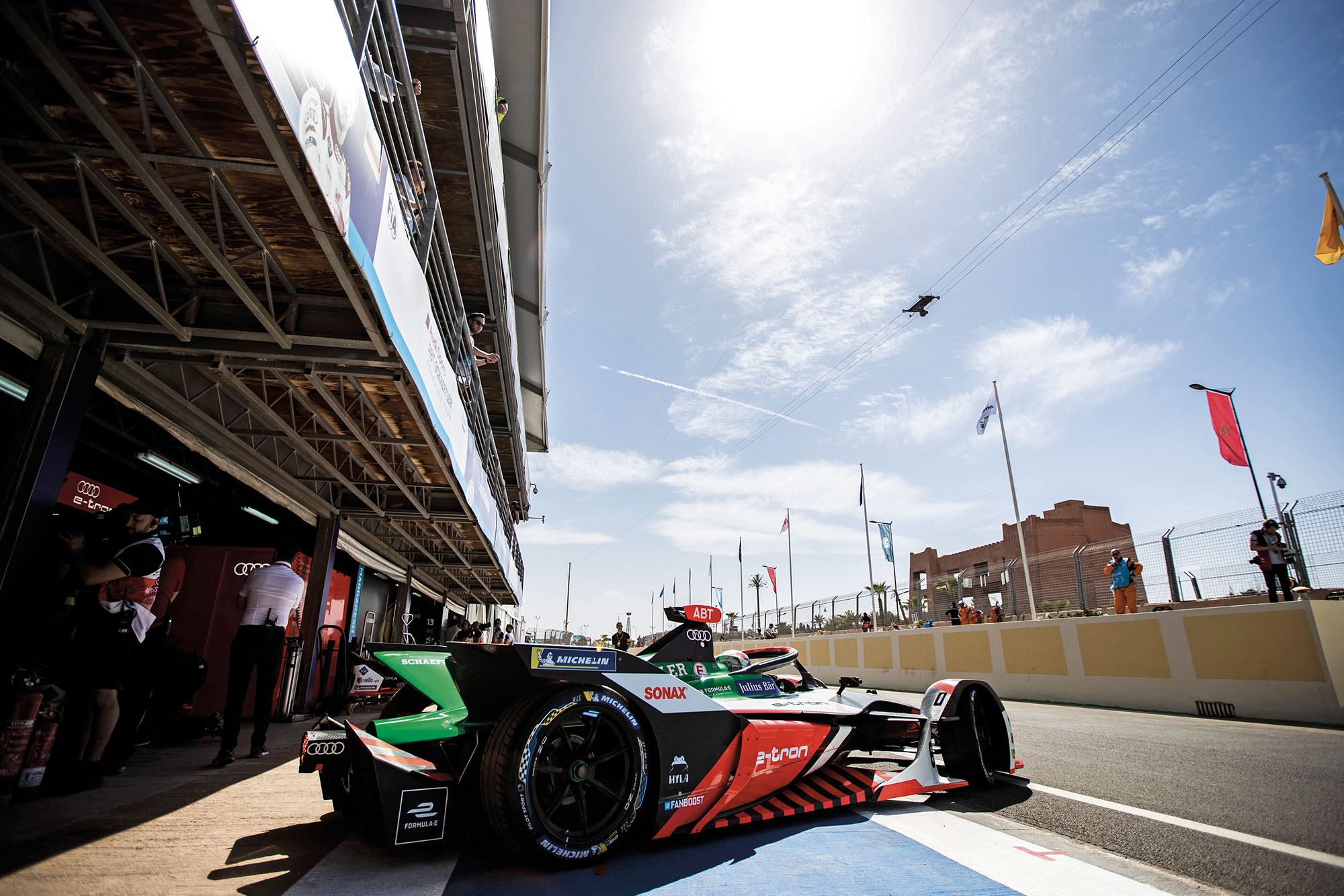 Audi Formula E morocco 2020