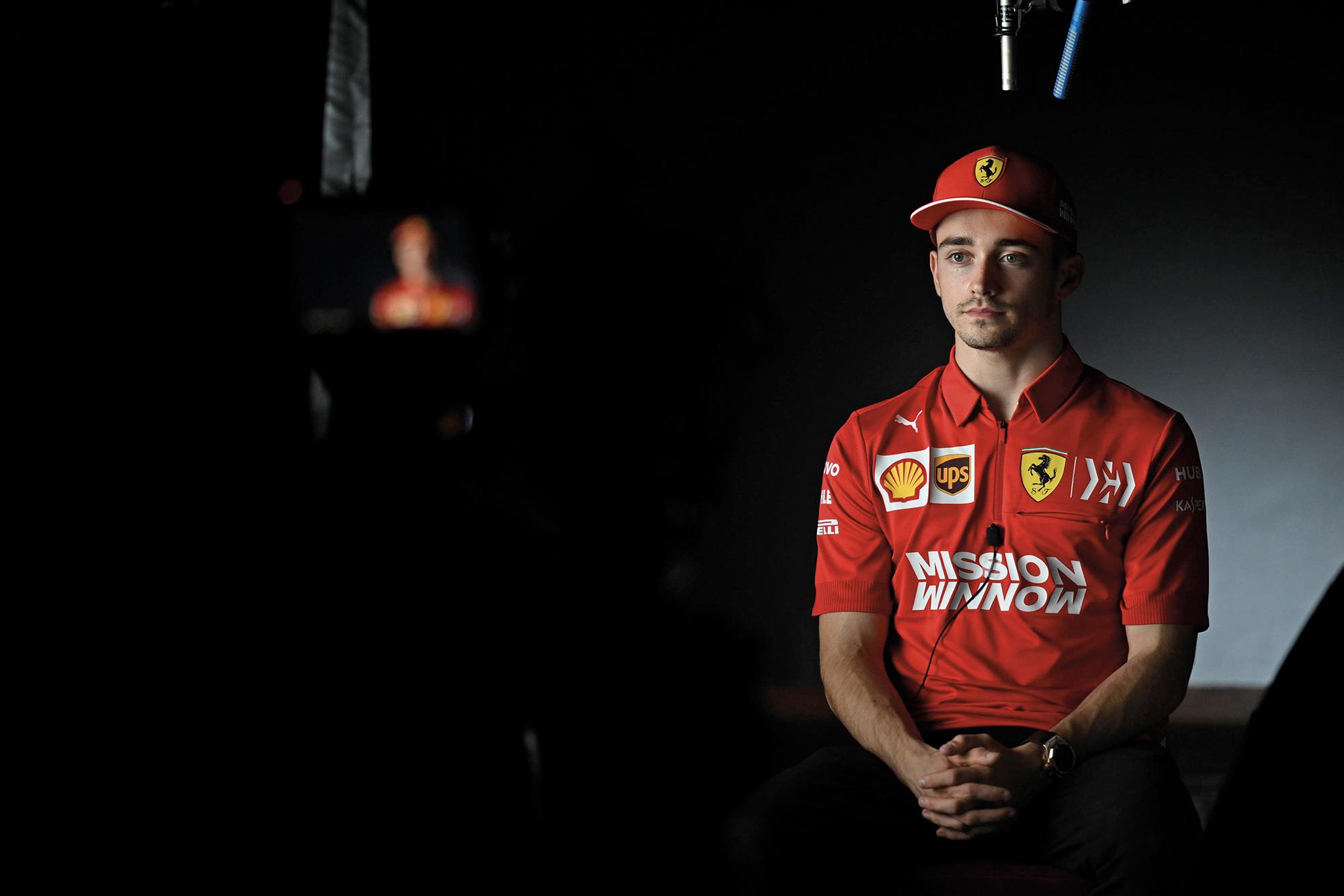 Netflix Drive to survive Ferrari Leclerc
