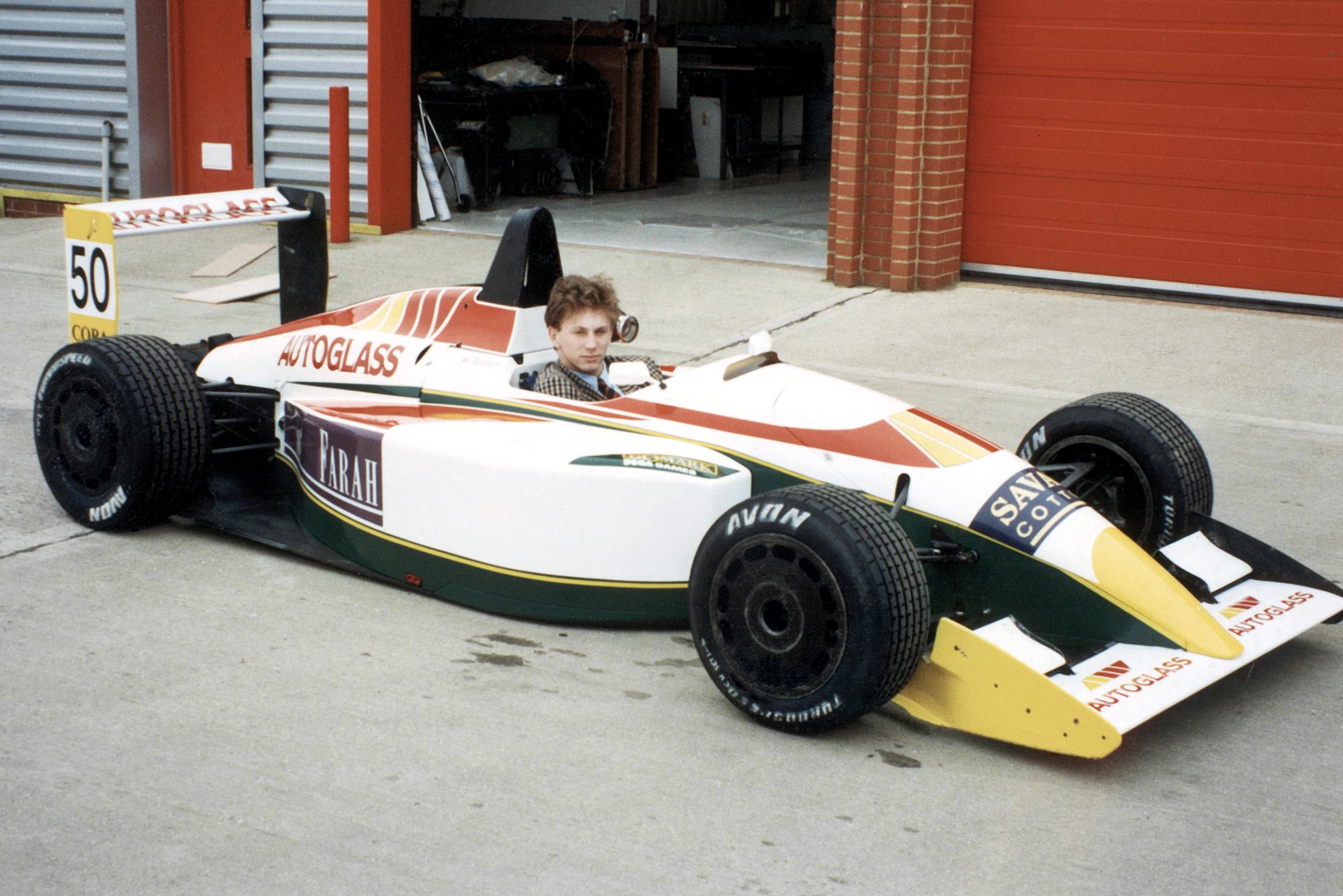 Christian Horner racing