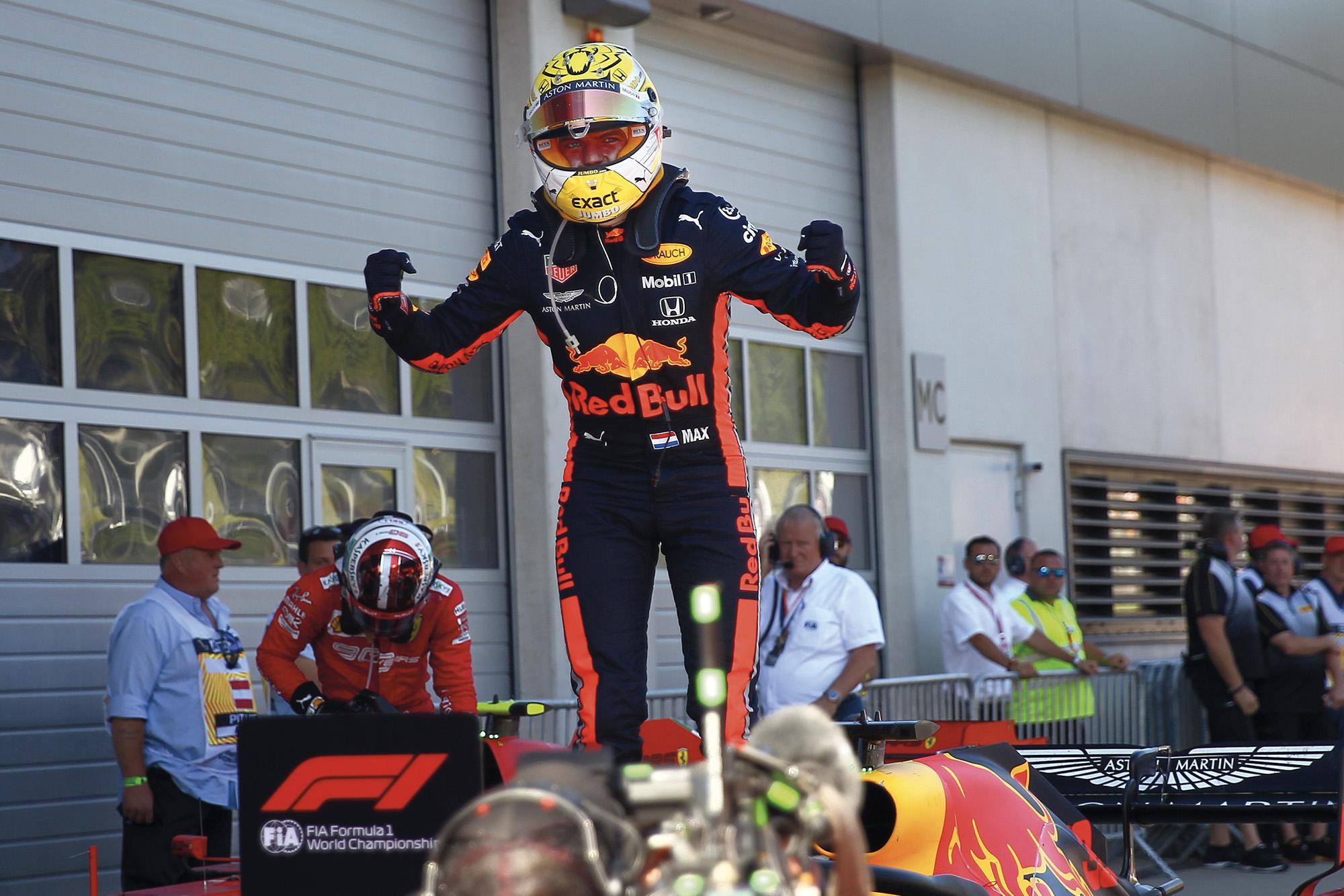 Max Verstappen wins Austria