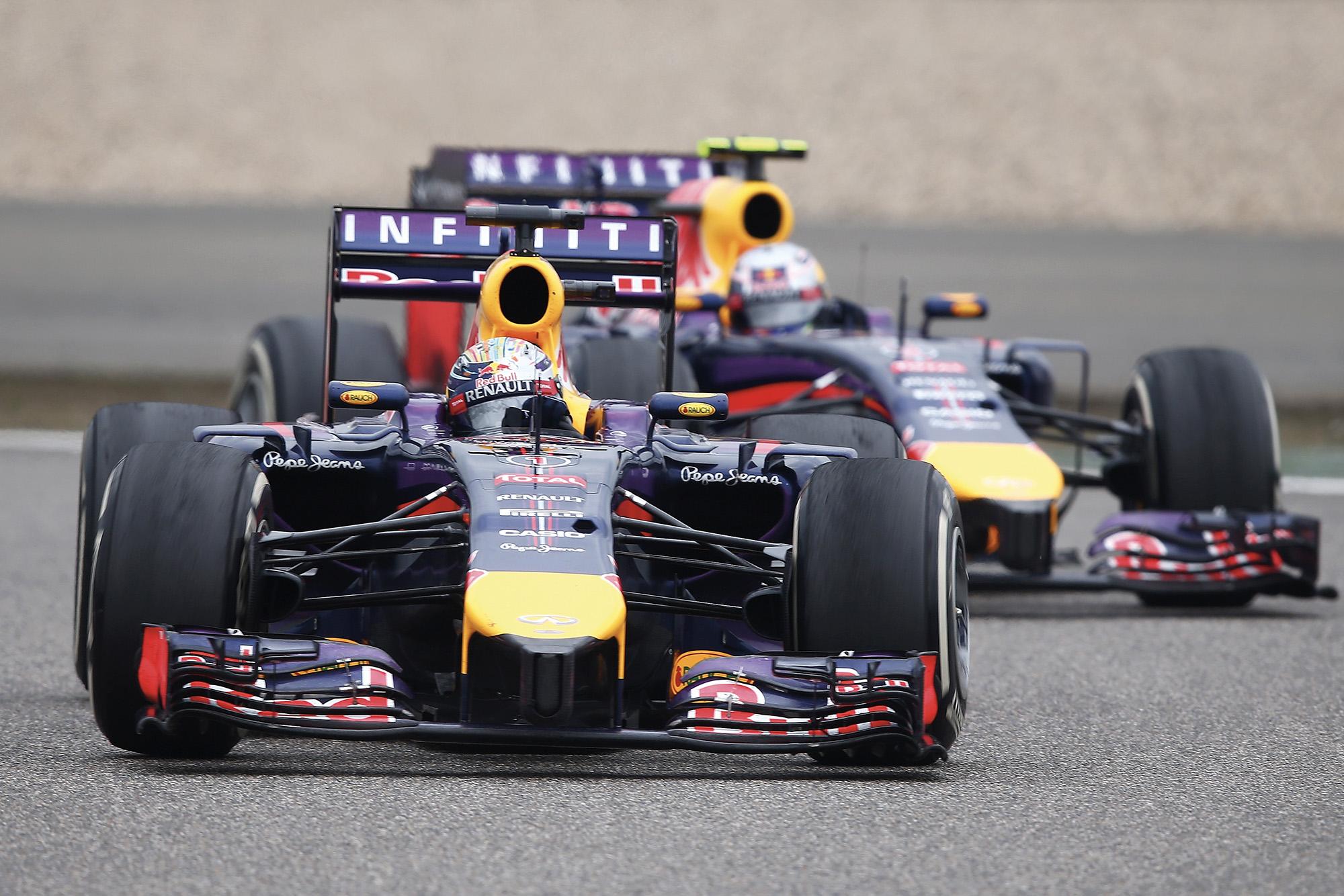 Sebastian Vettel Red Bull Racing Daniel Ricciardo