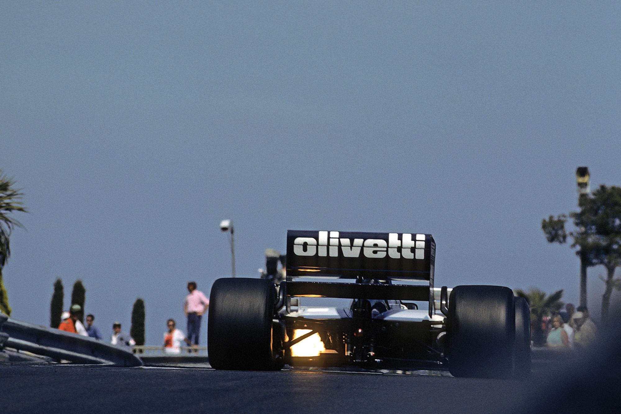 Elio de Angelis 1986 Monaco GP