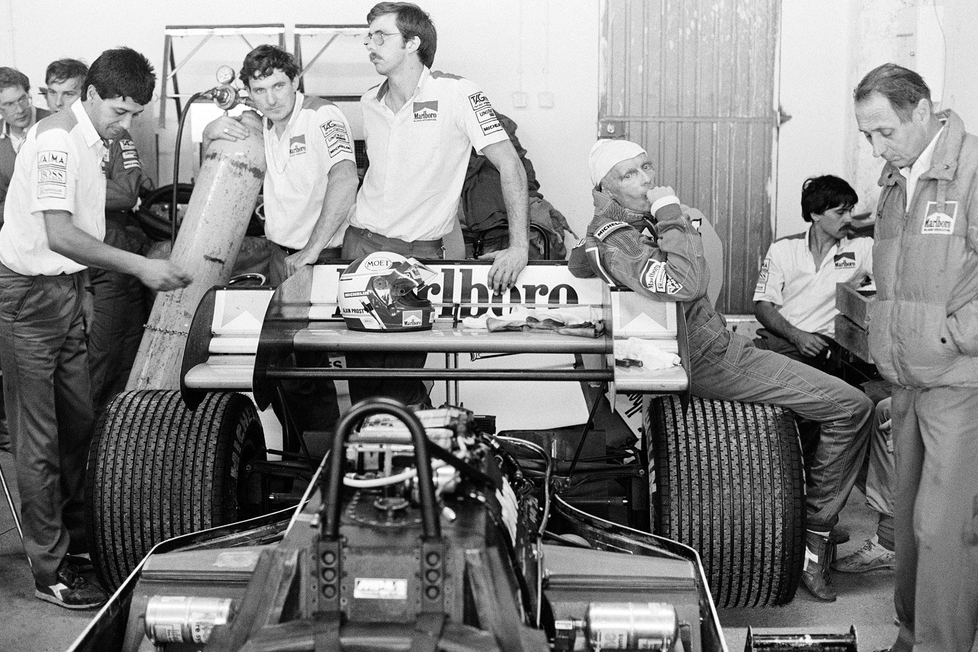 Lauda 1984 Portuguese GP