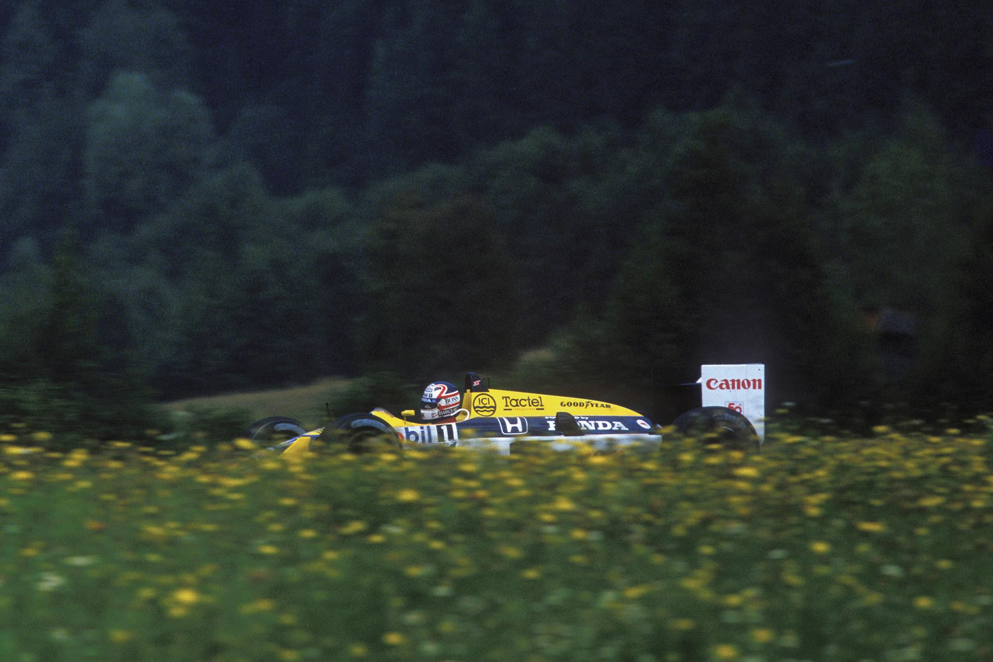 Mansell Austria 1987
