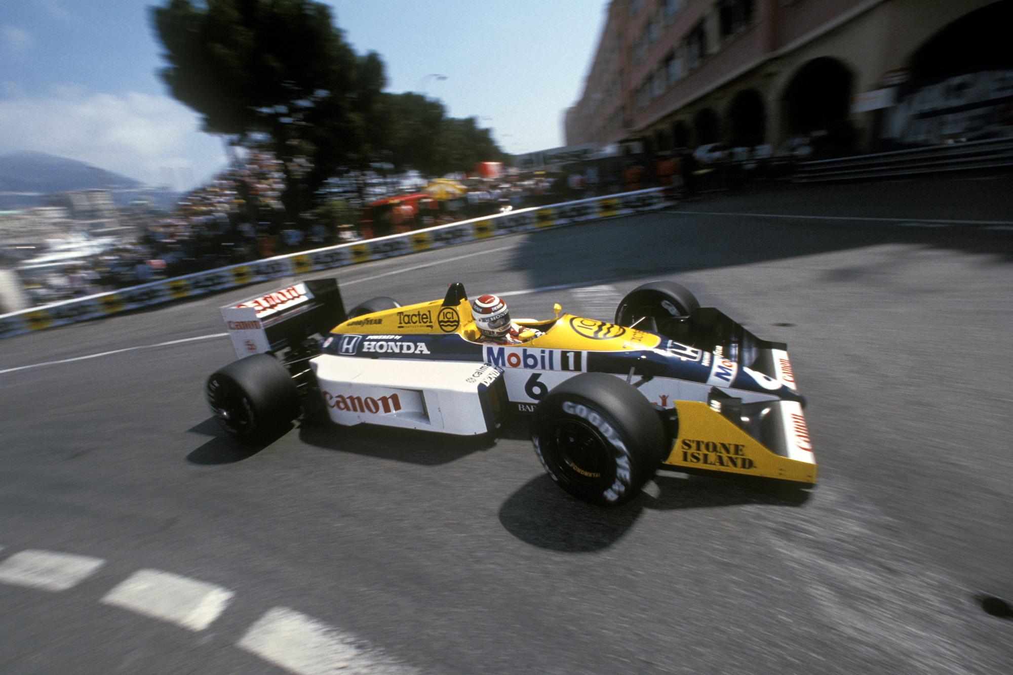 Nelson Piquet at the 1987 Monaco Grand Prix