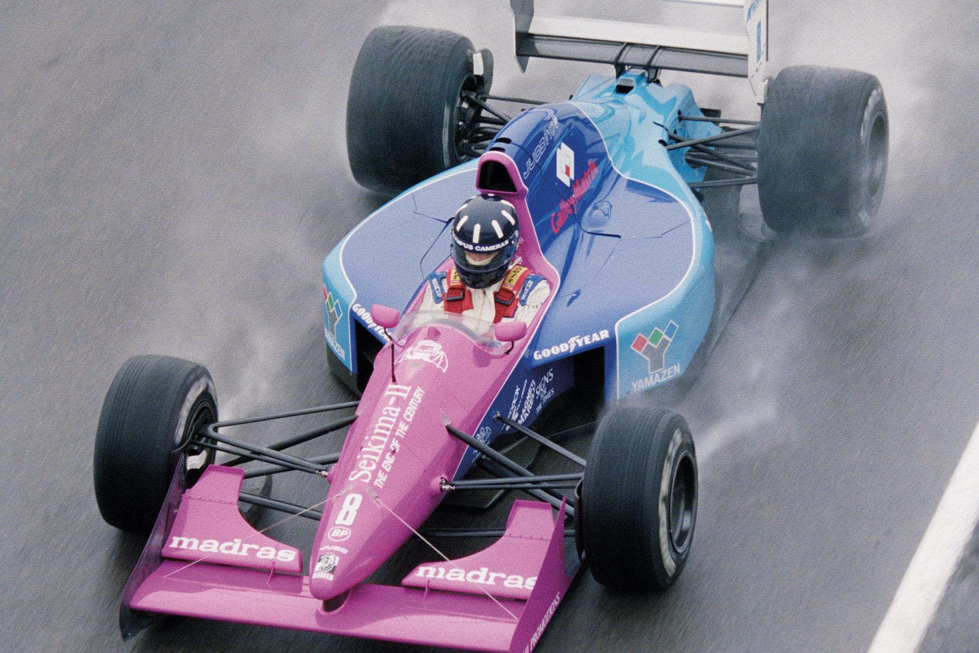 Damon Hill in a Brabham at the 1992 British Grand Prix
