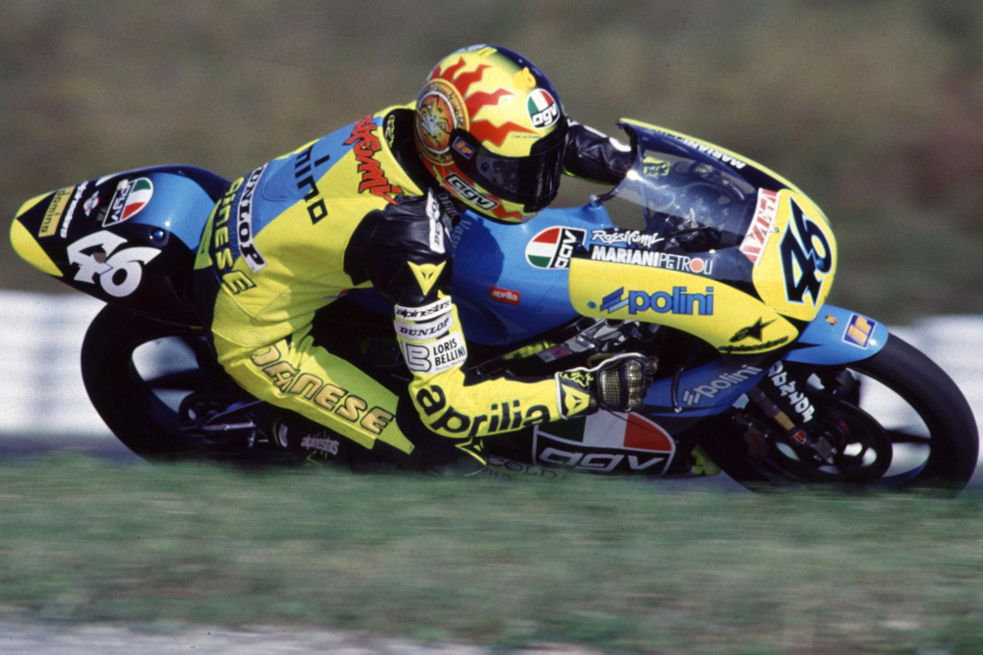 Happy 24th MotoGP birthday to Valentino Rossi!
