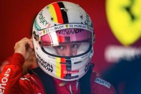 The designer behind Sebastian Vettel's Formula 1 crash helmets