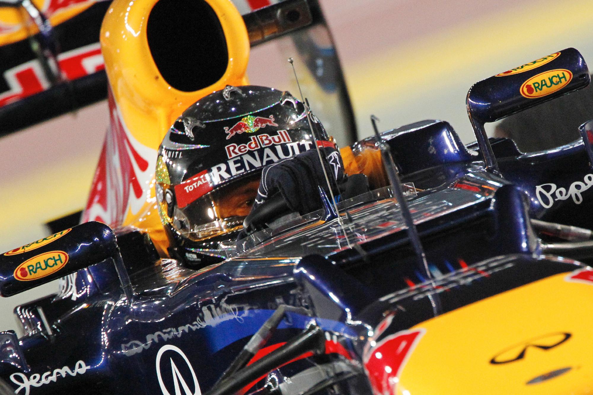 Sebastian Vettel during the 2012 Singapore Grand Prix