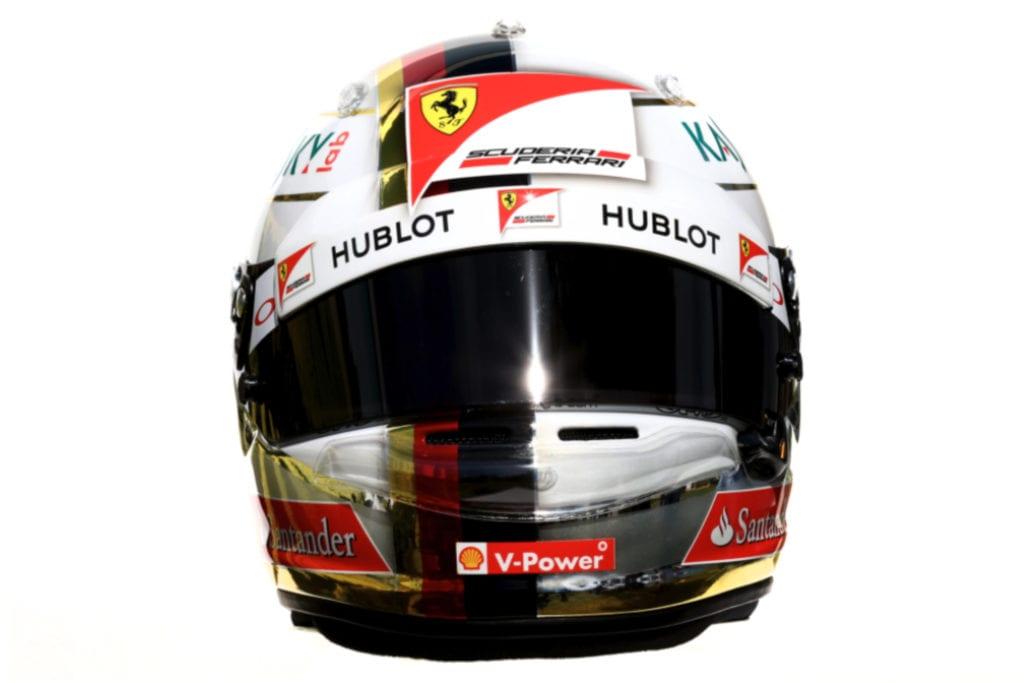 Sebastian Vettel 2016 Helmet