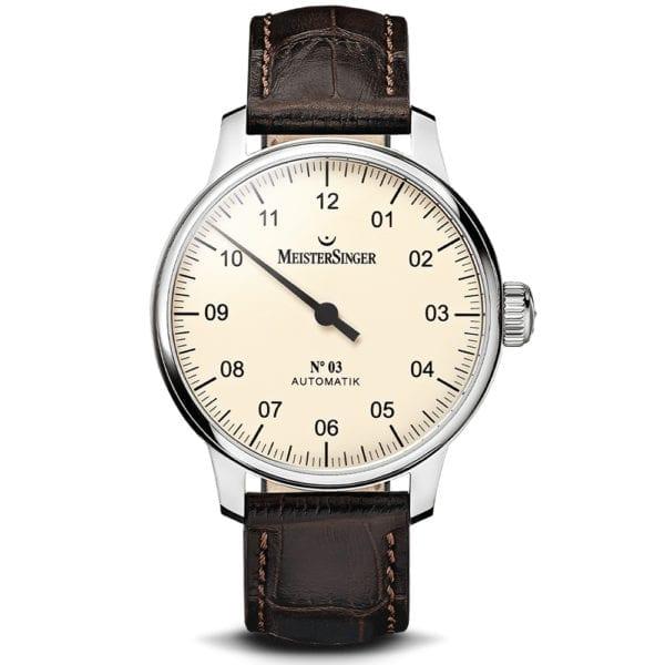 no 3 mastersinger watch