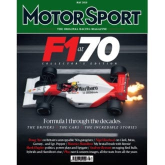 Product image for May 2020 | F1 at 70 | Motor Sport Magazine