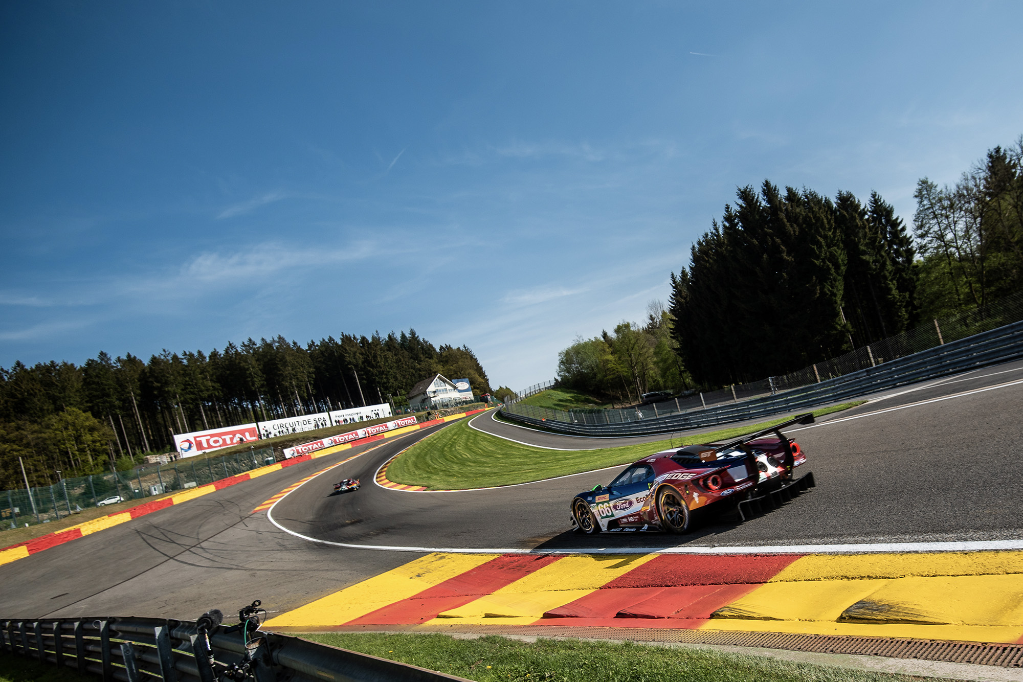 6 Hours of Spa 2019 Eau Rouge