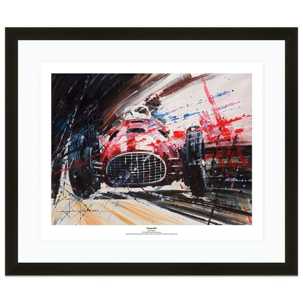 John ketch ell framed ferrari 1951 British gp