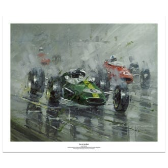 Product image for One of the Best | Jim Clark – Lotus – 1964 | John Ketchell | Art Print