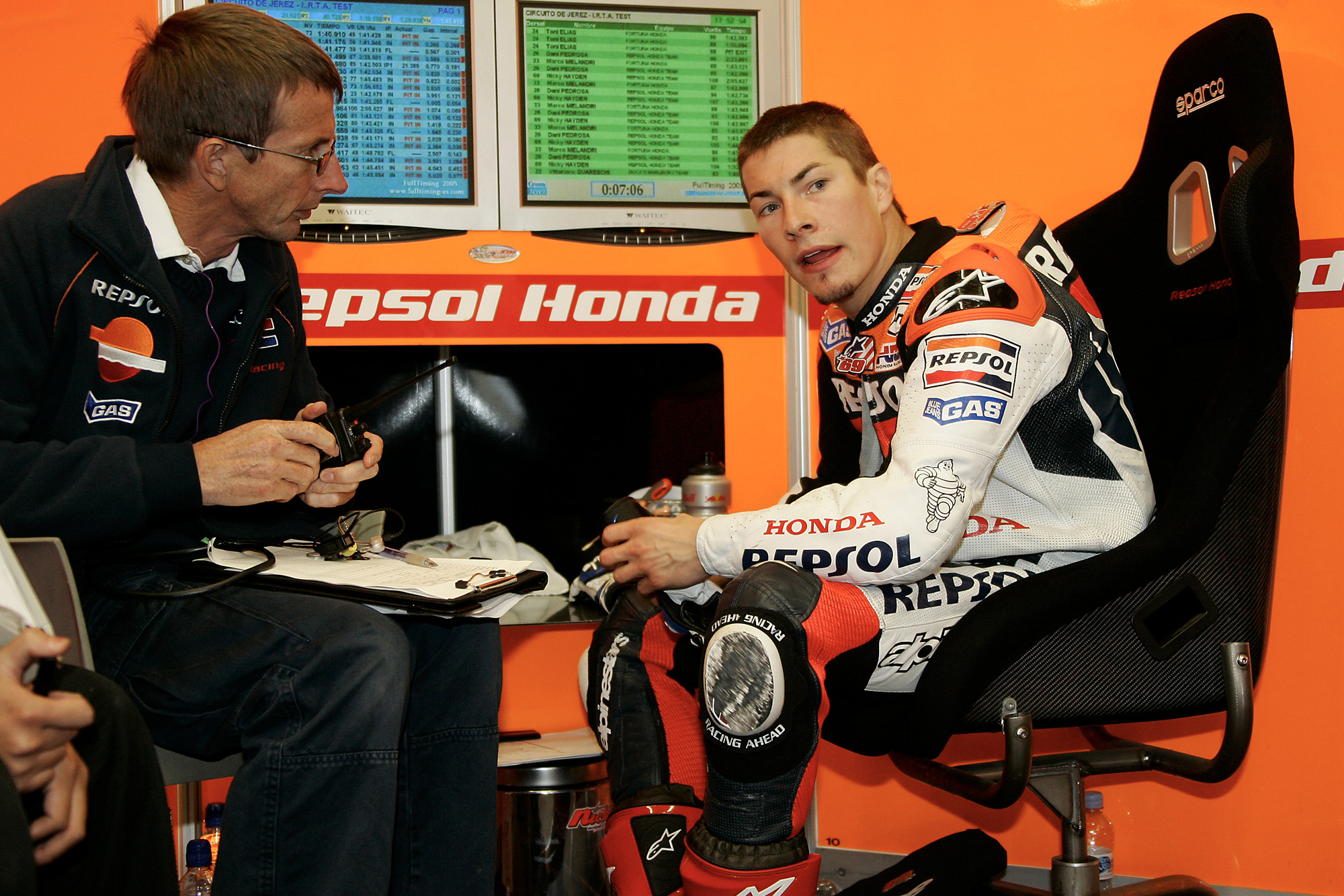Nicky Hayden from 2003