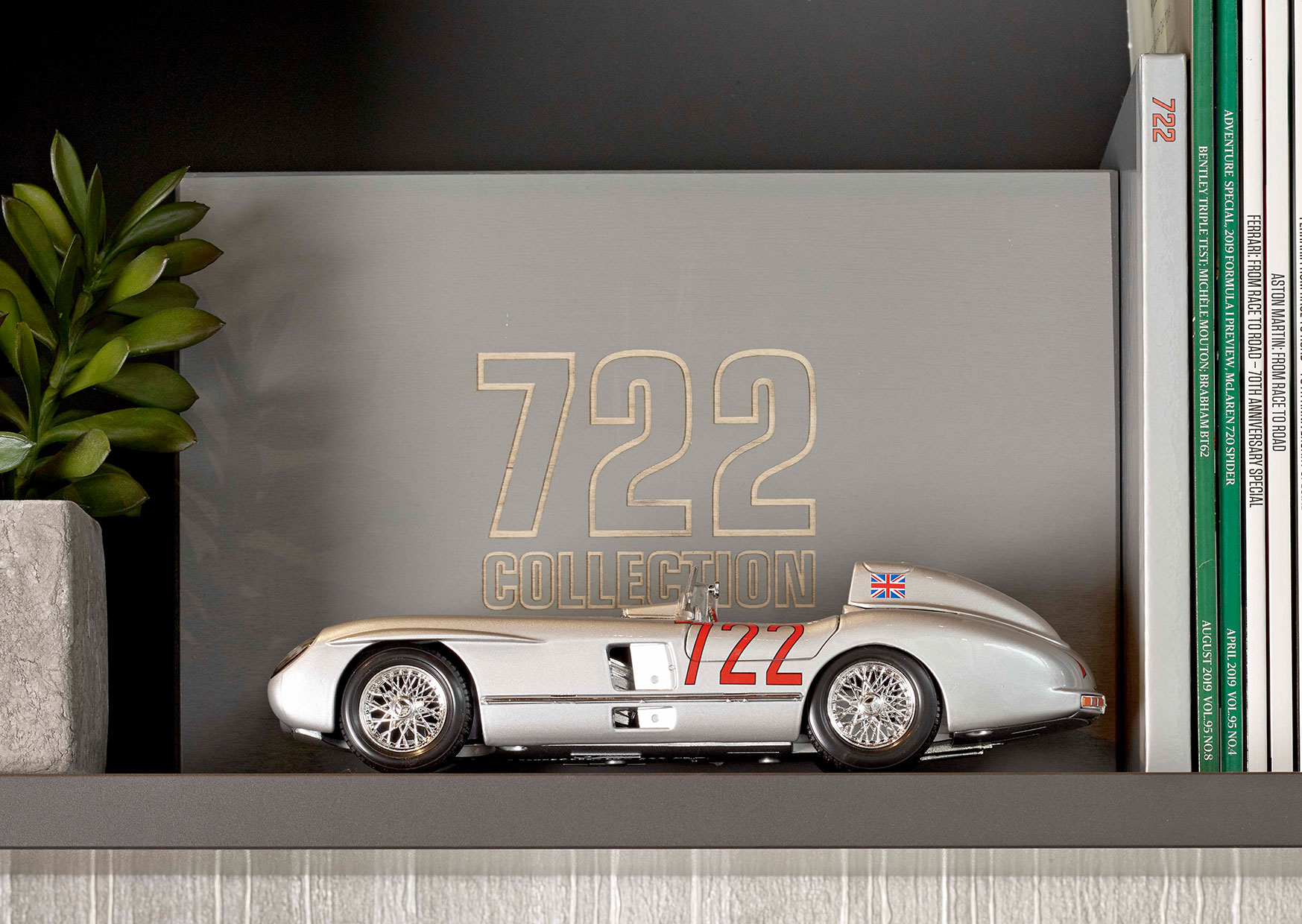 Sir Stirling Moss Legendary 722 signed box set