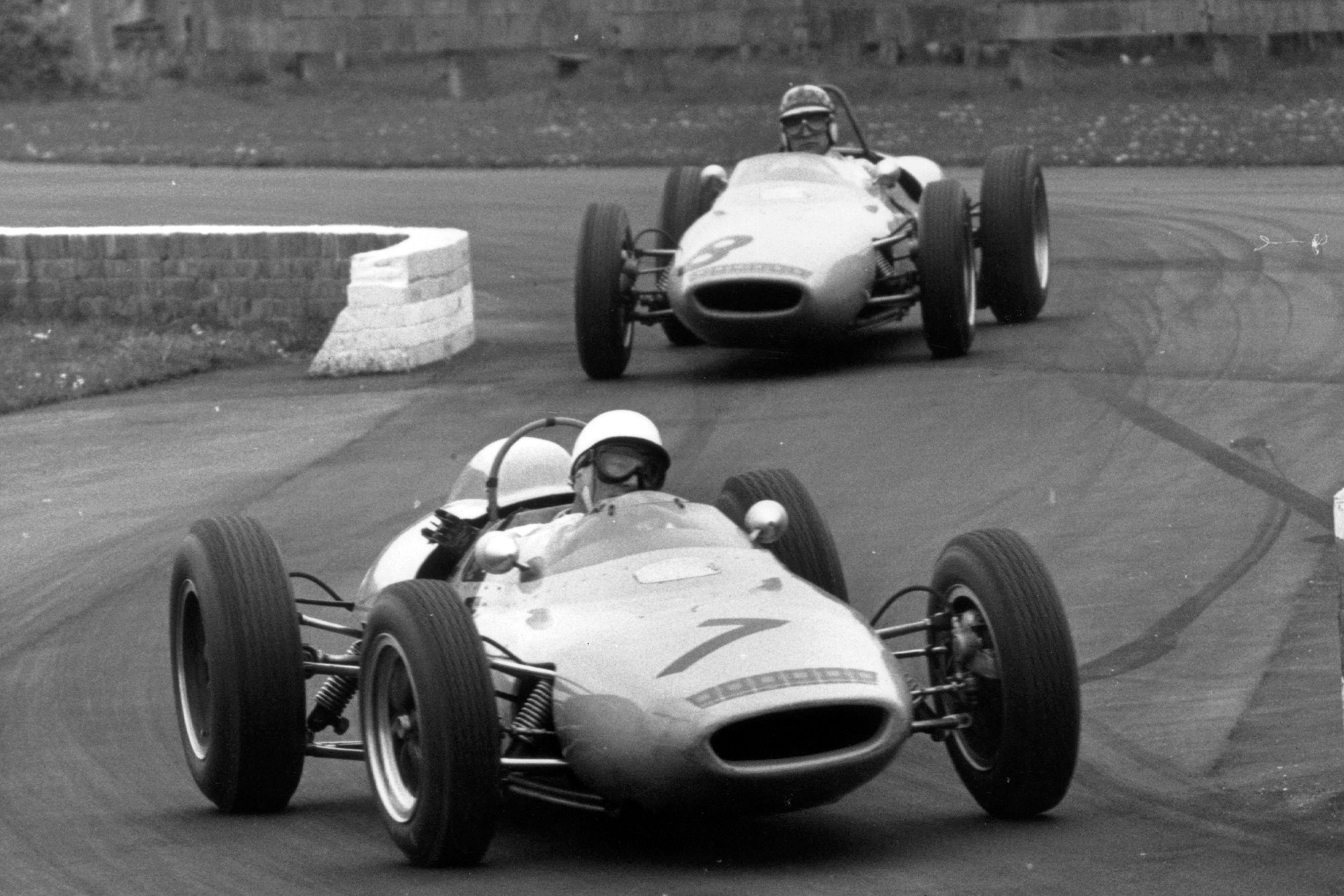 Stirling Moss at Goodwood in 1962