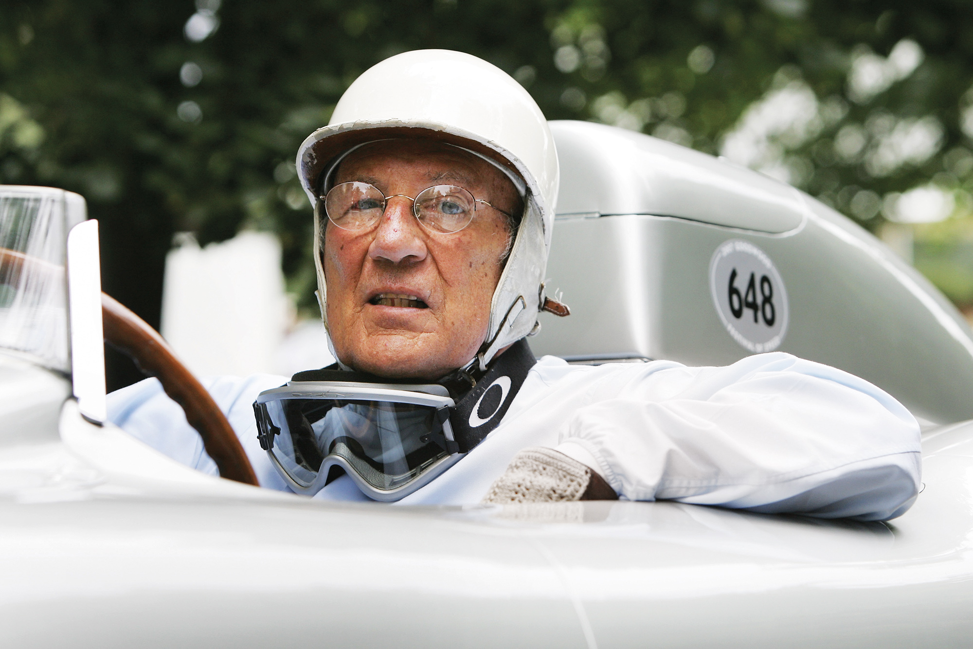 Stirling Moss in 2007
