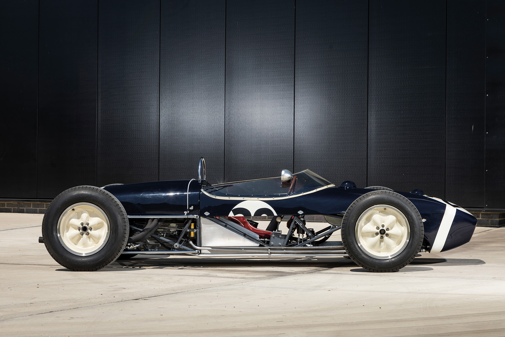 1961 Stirling Moss Monaco winning Lotus 18 side