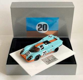 Product image for Steve McQueen – Porsche 917K – 1970 | model | signed Brian Redman | 1:18 scale