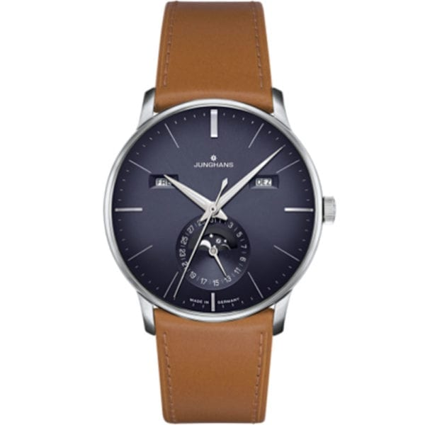 calendar jungians blue brown strap