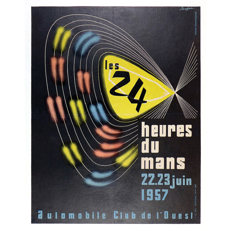 1957 Le Mans 24 Hours poster