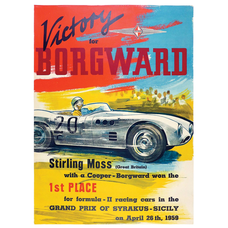 1959 Sicily GP poster