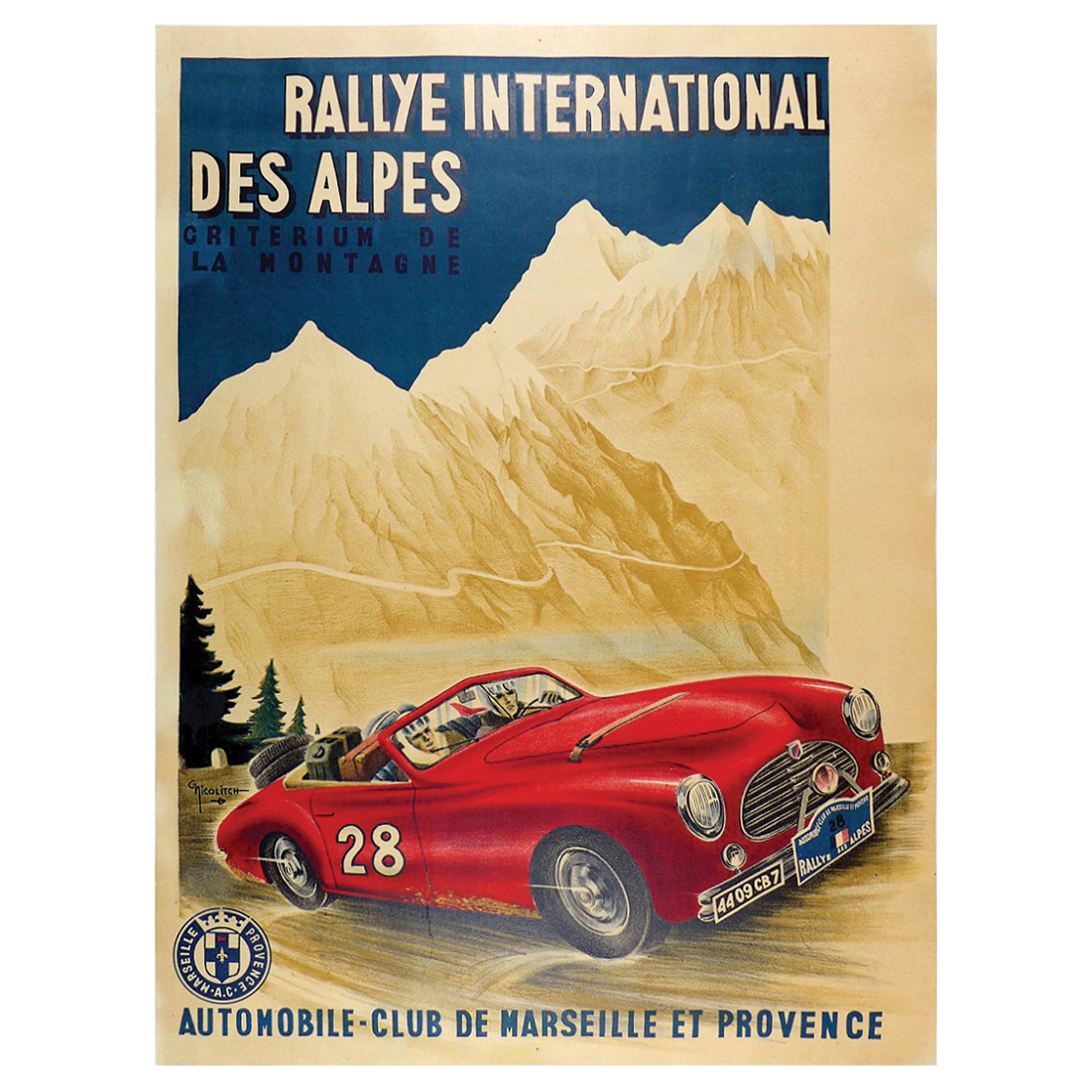 Rally of the Alps poster