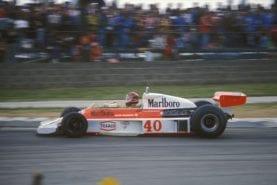 MPH Grand Prix debuts: Gilles Villeneuve marks his arrival