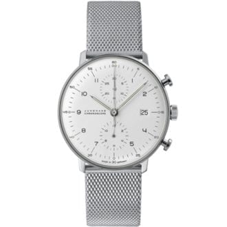 Product image for Junghans | Max Bill - Chronoscope Steel | Watch