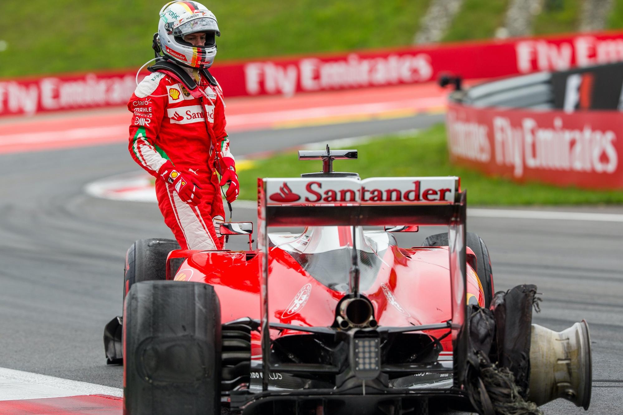 Sebastian Vettel, 2016 Austria