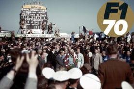 The first F1 World Championship race: the 1950 British Grand Prix