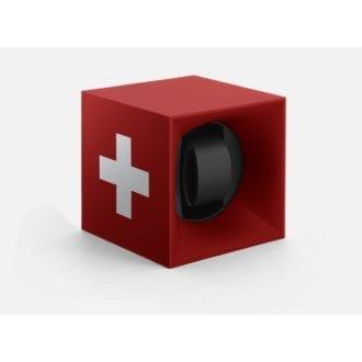Product image for Swiss Kubik | Startbox Red Swisscross | Watch Winder