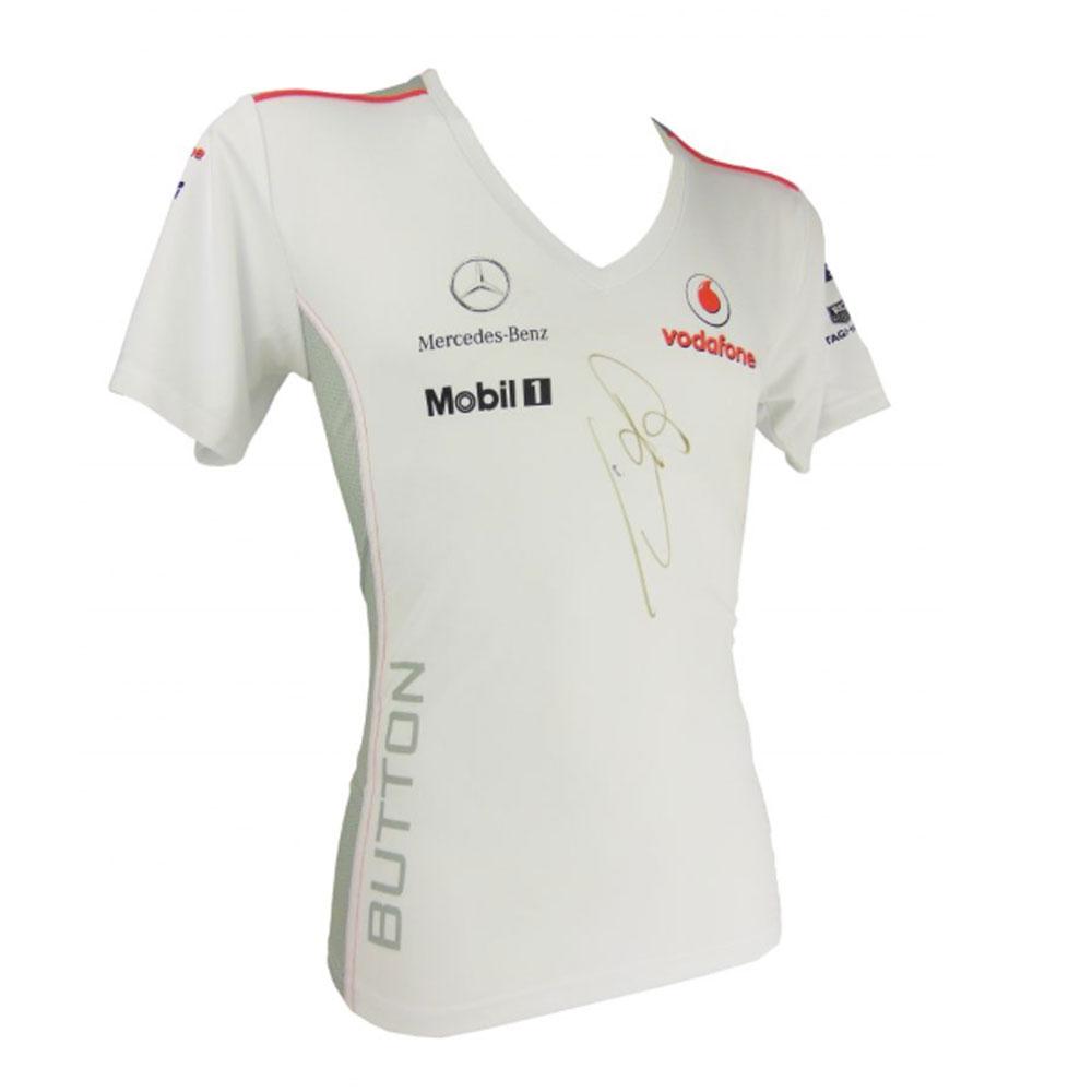Product image for Jenson Button – F1 World Champion – McLaren shirt | memorabilia | signed Jenson Button