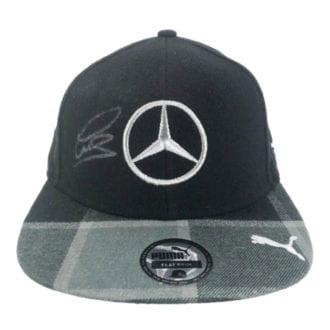 Product image for Lewis Hamilton - Flat Cap – F1 World Champion | memorabilia | signed Lewis Hamilton