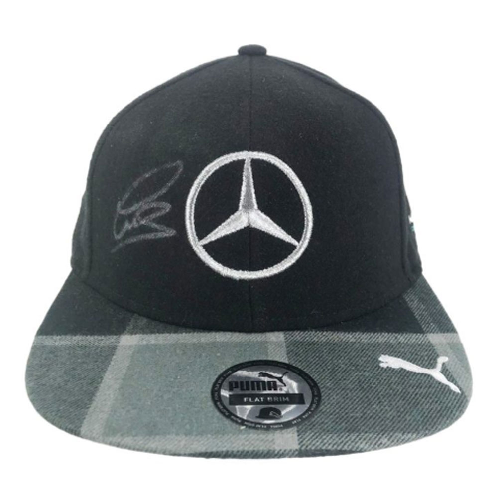Product image for Lewis Hamilton - Flat Cap – F1 World Champion | memorabilia | signed Lewis Hamilton