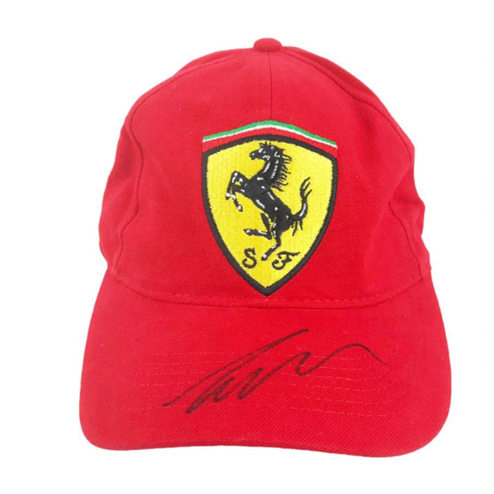 Product image for Niki Lauda – Cap – F1 World Champion | memorabilia | signed Niki Lauda
