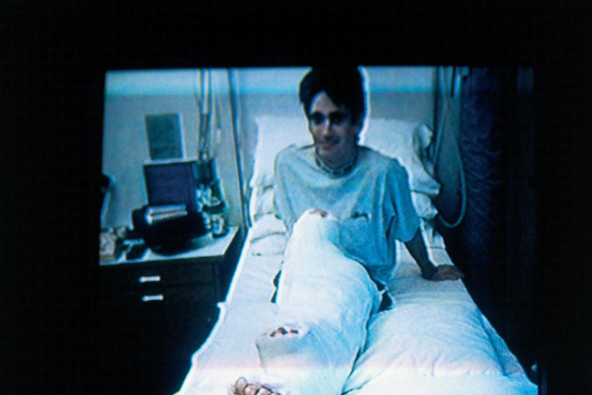 Mick Doohan in hospital