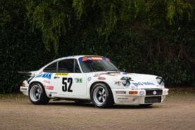 Historic Le Mans Porsche Carrera for sale