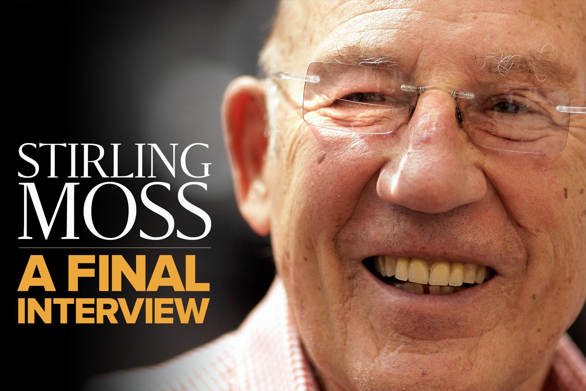 Video: Stirling Moss, a final interview