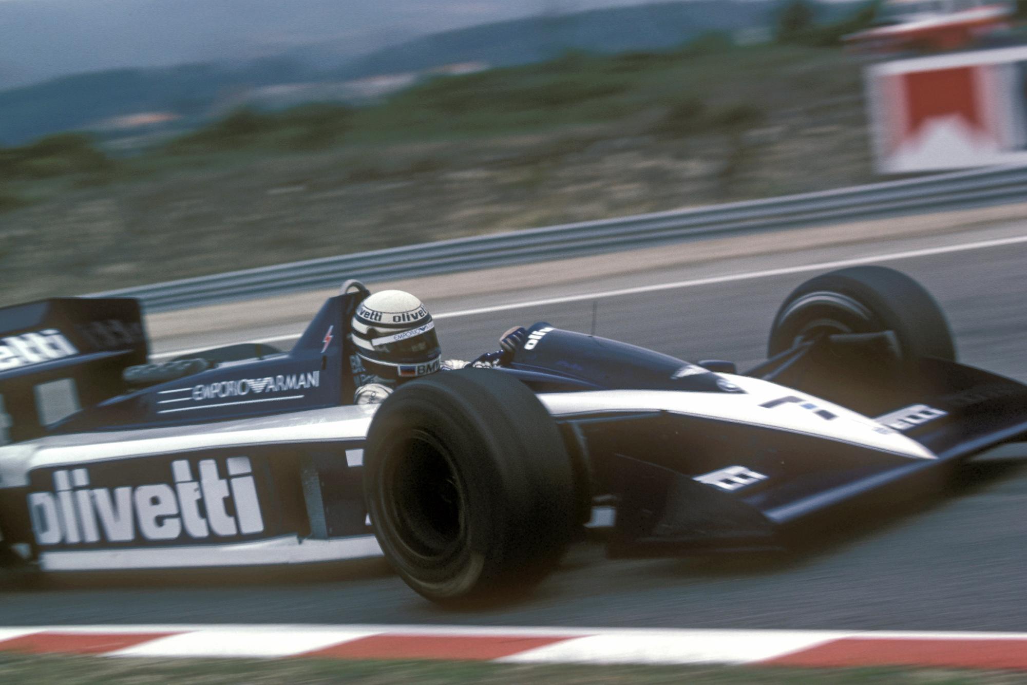 Riccardo Patrese in the Brabham BT55