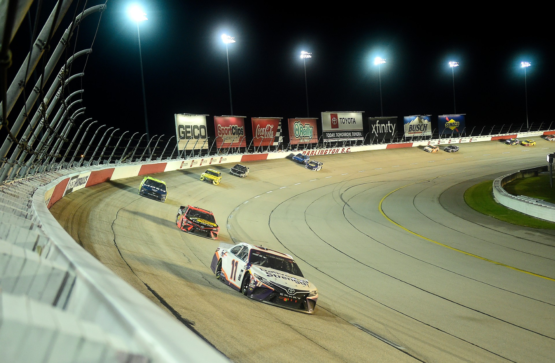 Harvick and Hamlin win at Darlington on NASCAR's return
