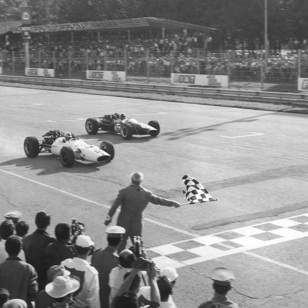 Surtees wins '67 race in Monza