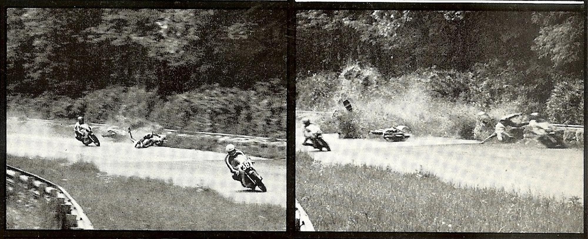 Monza 73 crash